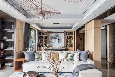 Impressive chinese living room decor ideas 41