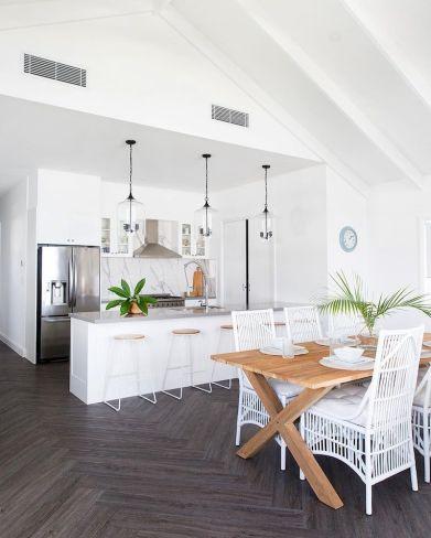 Latest coastal kitchen design ideas 22