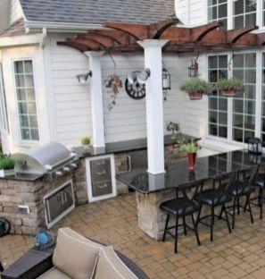 Modern outdoor kitchen designs ideas 15