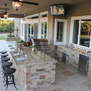 Modern outdoor kitchen designs ideas 24