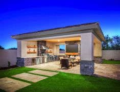 Modern outdoor kitchen designs ideas 31