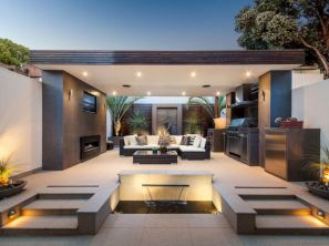 Modern outdoor kitchen designs ideas 34