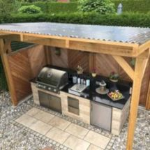Modern outdoor kitchen designs ideas 39