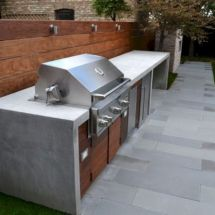 Modern outdoor kitchen designs ideas 40