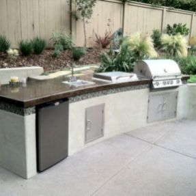 Modern outdoor kitchen designs ideas 42