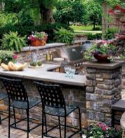 Modern outdoor kitchen designs ideas 44