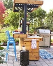 Modern outdoor kitchen designs ideas 46