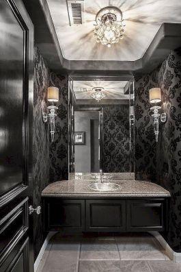 Newest gothic bathroom design ideas 09