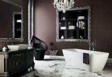 Newest gothic bathroom design ideas 11