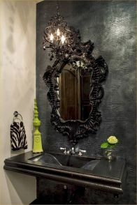 Newest gothic bathroom design ideas 14