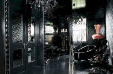 Newest gothic bathroom design ideas 25