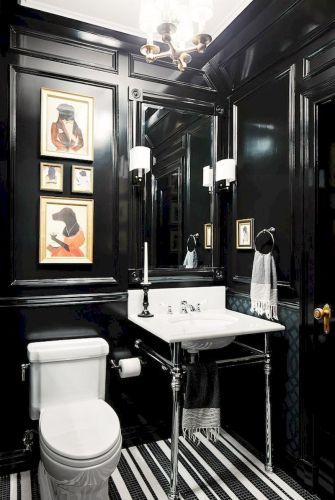 Newest gothic bathroom design ideas 29