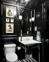 Newest gothic bathroom design ideas 30
