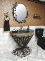 Newest gothic bathroom design ideas 31