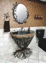 Newest gothic bathroom design ideas 31