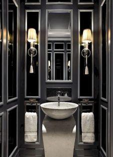 Newest gothic bathroom design ideas 40