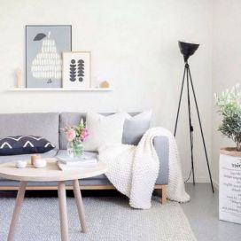 Stunning scandinavian living room design ideas 10