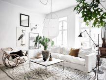 Stunning scandinavian living room design ideas 21