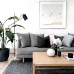 Stunning scandinavian living room design ideas 22