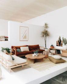 Stunning scandinavian living room design ideas 27