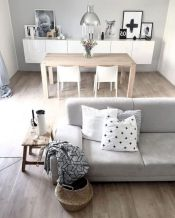 Stunning scandinavian living room design ideas 42