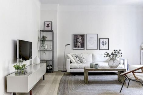 Stunning scandinavian living room design ideas 44