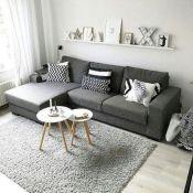 Stunning scandinavian living room design ideas 49