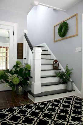 Unique coastal stairs design ideas for home this summer 15