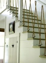Unique coastal stairs design ideas for home this summer 22