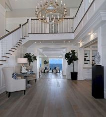 Unique coastal stairs design ideas for home this summer 27