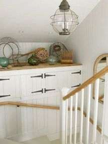 Unique coastal stairs design ideas for home this summer 31