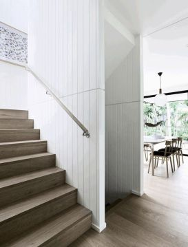 Unique coastal stairs design ideas for home this summer 36
