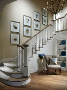 Unique coastal stairs design ideas for home this summer 38