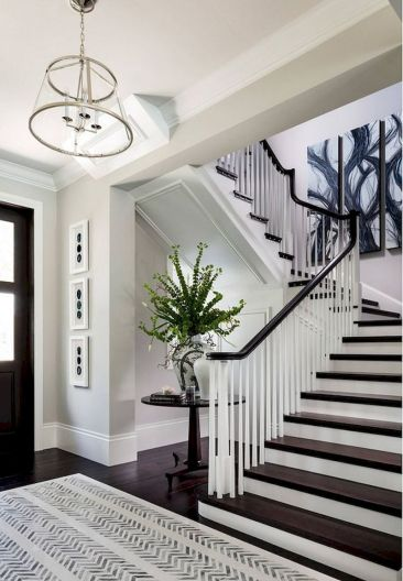 Unique coastal stairs design ideas for home this summer 46