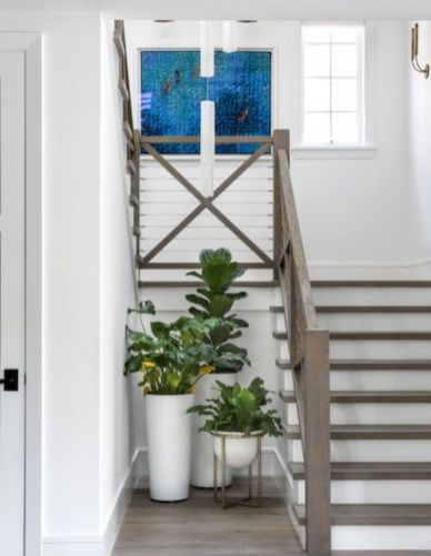 Unique coastal stairs design ideas for home this summer 48