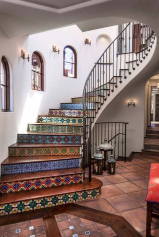 Unique coastal stairs design ideas for home this summer 51