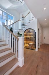 Unique coastal stairs design ideas for home this summer 52