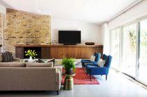 Unique mid century living room décor ideas 10