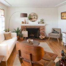 Unique mid century living room décor ideas 11