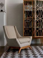 Unique mid century living room décor ideas 13