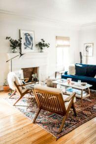 Unique mid century living room décor ideas 19
