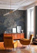 Unique mid century living room décor ideas 23