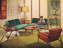 Unique mid century living room décor ideas 31