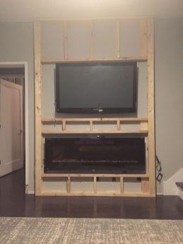 Adorable tv wall decor ideas 13