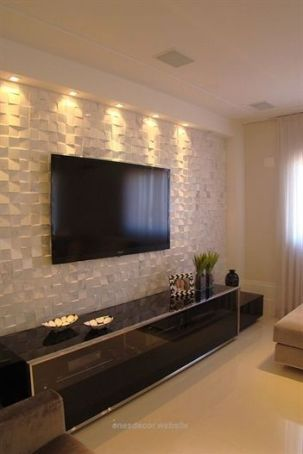 Adorable tv wall decor ideas 17