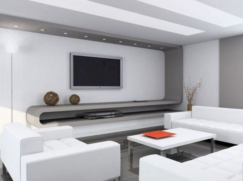 Adorable tv wall decor ideas 28