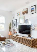Adorable tv wall decor ideas 29