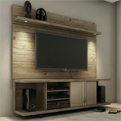 Adorable tv wall decor ideas 31