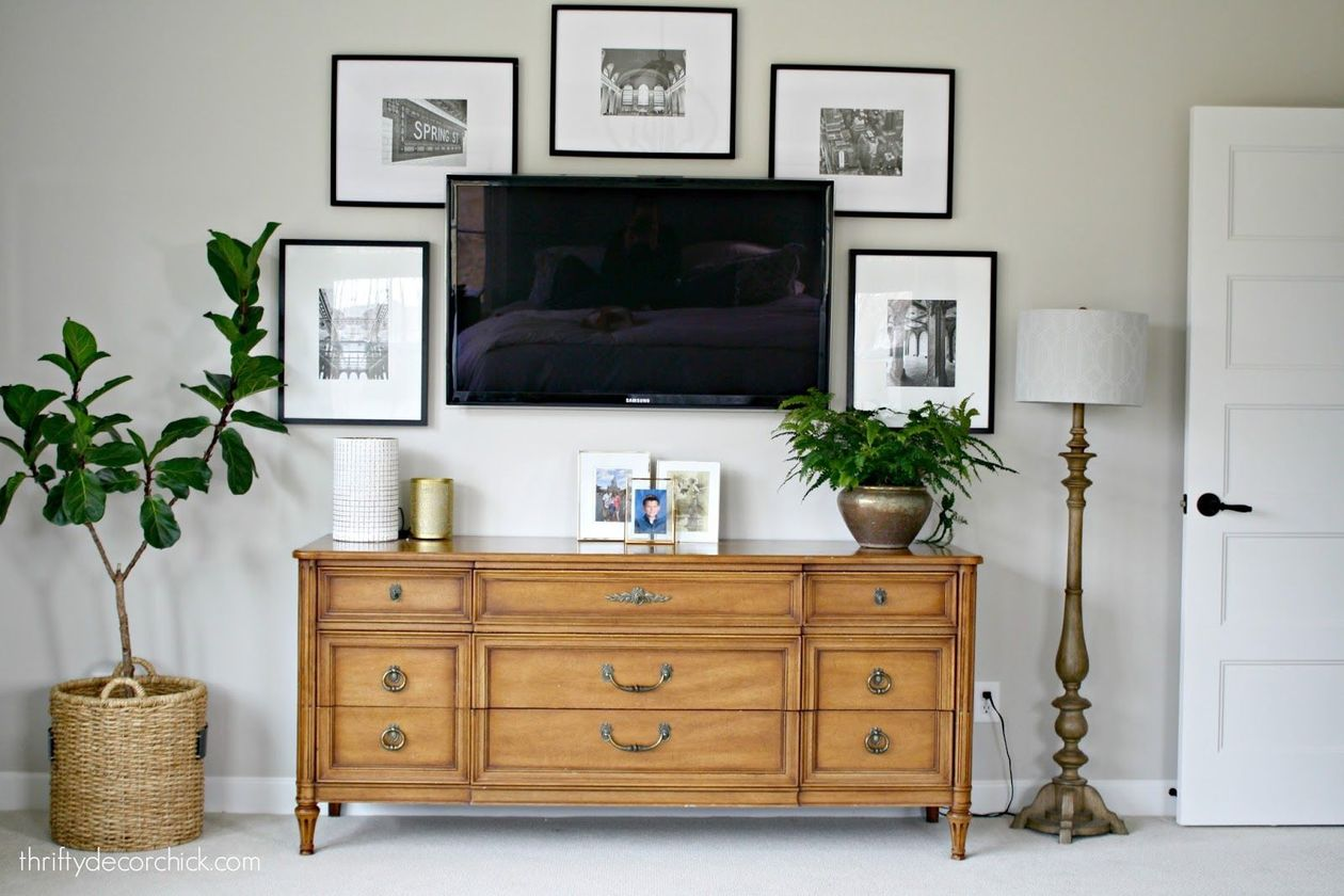 Adorable tv wall decor ideas 36