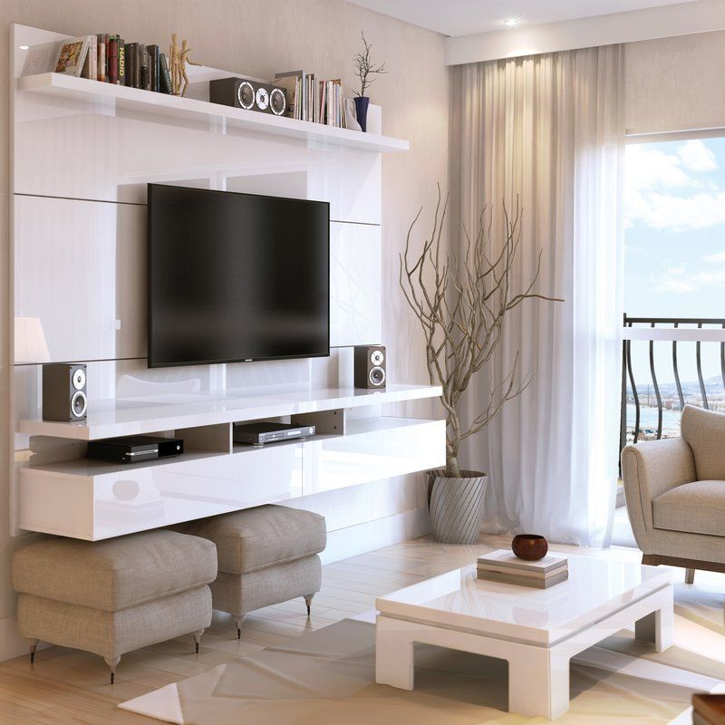Adorable tv wall decor ideas 40